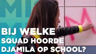 BIJ WELKE SQUAD HOORDE DJAMILA OP SCHOOL? | MISFIT DE FILM
