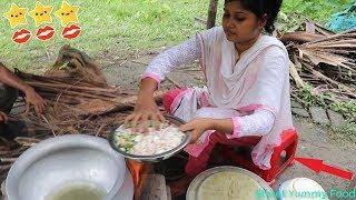 Village Food - Beef Biryani Muslim Style Country Foods / Village Cooking Beef Biryani Simple & Easy