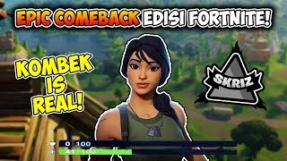 Comeback Is Real lost in the early win at the end of Fortnite Indonesia
