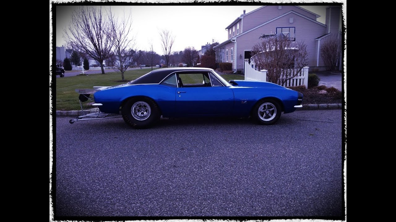 SOLD~~1967 RS/SS Camaro Pro Street Drag Radial For Sale~Marina Blue ...