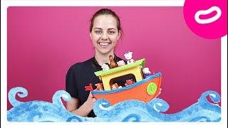 Ноев Ковчег. Обзор детской игрушки от Kiddieland. Развивающие игрушки для детей