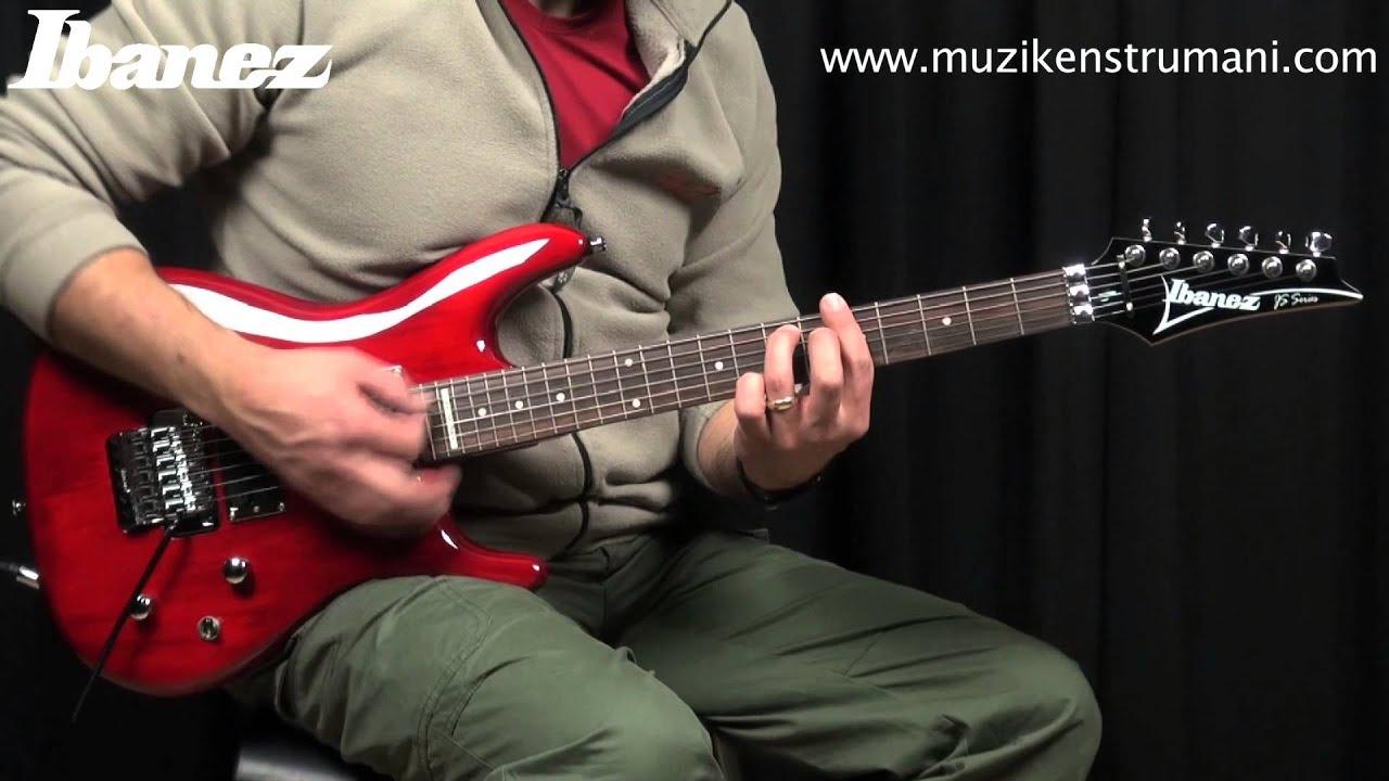 ibanez js100 tr elektro gitar youtube