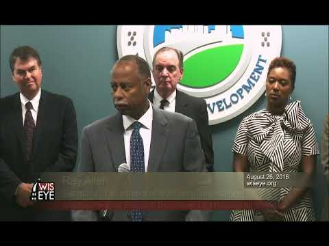 News Conference: Governor, Mayor, County Exec Unveil Development Efforts for Milwaukee