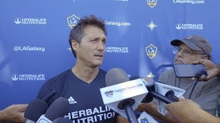 WATCH: Guillermo Barros Schelotto previews LA Galaxy match with LAFC