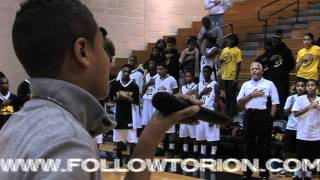 National Anthem Torion Sellers