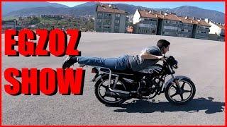 YILLARDIR YATAN Motosikleti Çalıştırıp Gazlamak