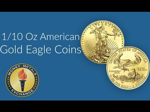 1/10 Oz Gold Eagle Coin | U.S. Mint | Money Metals Exchange