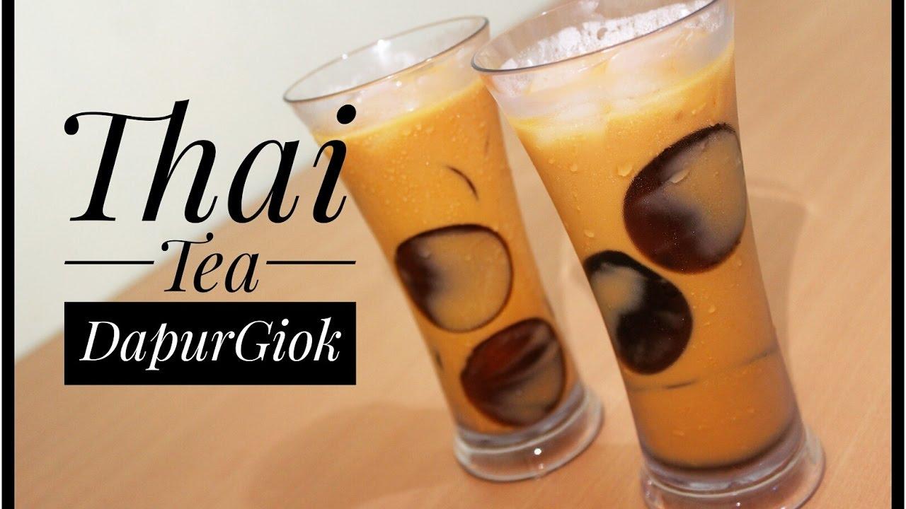RESEP KHUSUS  LANGSUNG BISA JUALAN  Thai Tea  Resep dan