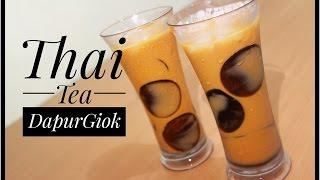 RESEP KHUSUS - LANGSUNG BISA JUALAN - Thai Tea - Resep dan Cara Membuat Thai Tea