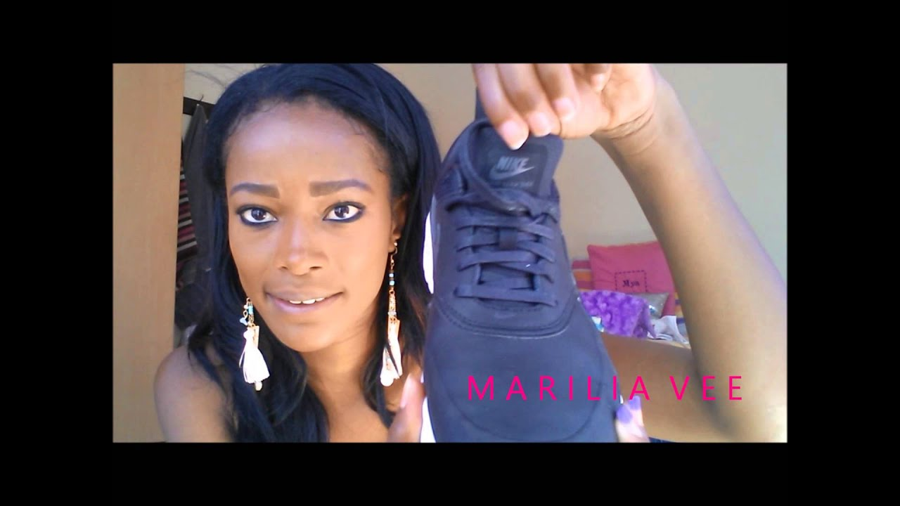 9f032a93eee4 NIKE Air Max Thea Edition PRM UNBOXING + OOTD - YouTube