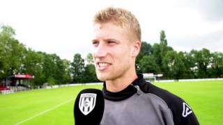 Wout Droste maakt eerste minuten na blessure | Interview