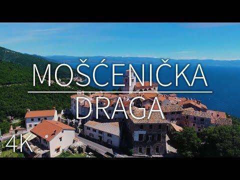 Mošćenićka Draga— Croatia | DRONE FOOTAGE | Pointers Travel