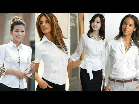 Blusas Blancas De Vestir 2018