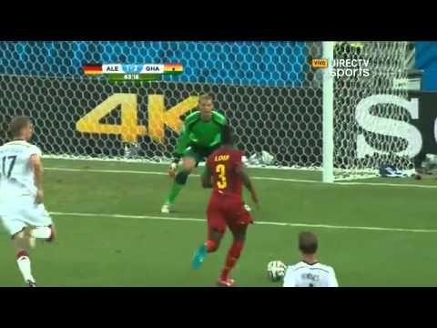 Alemania 2 - 2 ghana  Mundial Brasil 2014 - Directv sports
