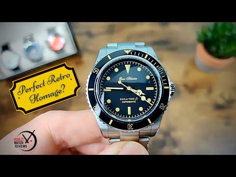 ⭐ San Martin 6200 Retro Diver Rolex Homage ⭐ Honest Watch Review