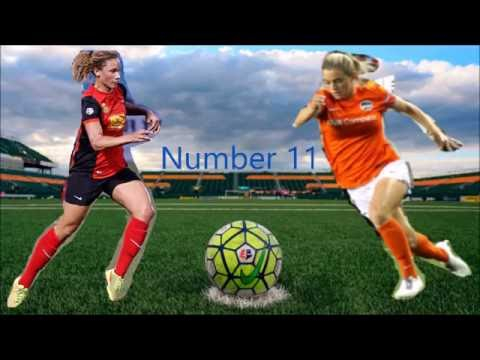 Kealia Ohai vs  Lynn Williams Goal Battle