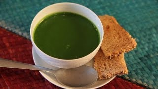 How To Cook Spinach Soup By Asha Khatau