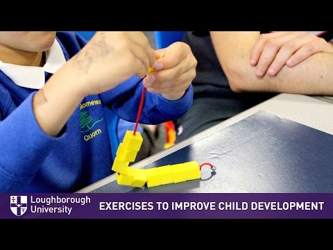 Exercises to improve early development and learning