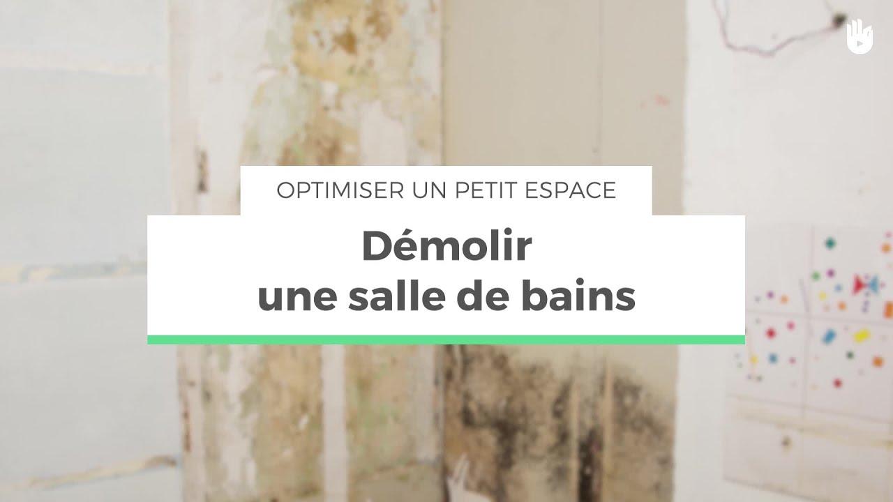 Amenagement Salle De Bain Petit Espace démolir une salle de bains | optimiser un petit espace