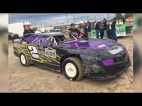 Jesse Qutermous #2Q | In-Car Camera | Genesee Speedway | 9-2-17