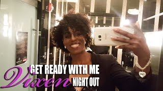 Get Ready with Me| Vixen Night Out| Natural Hair & Sequin| BEAUTYCUTRIGHT
