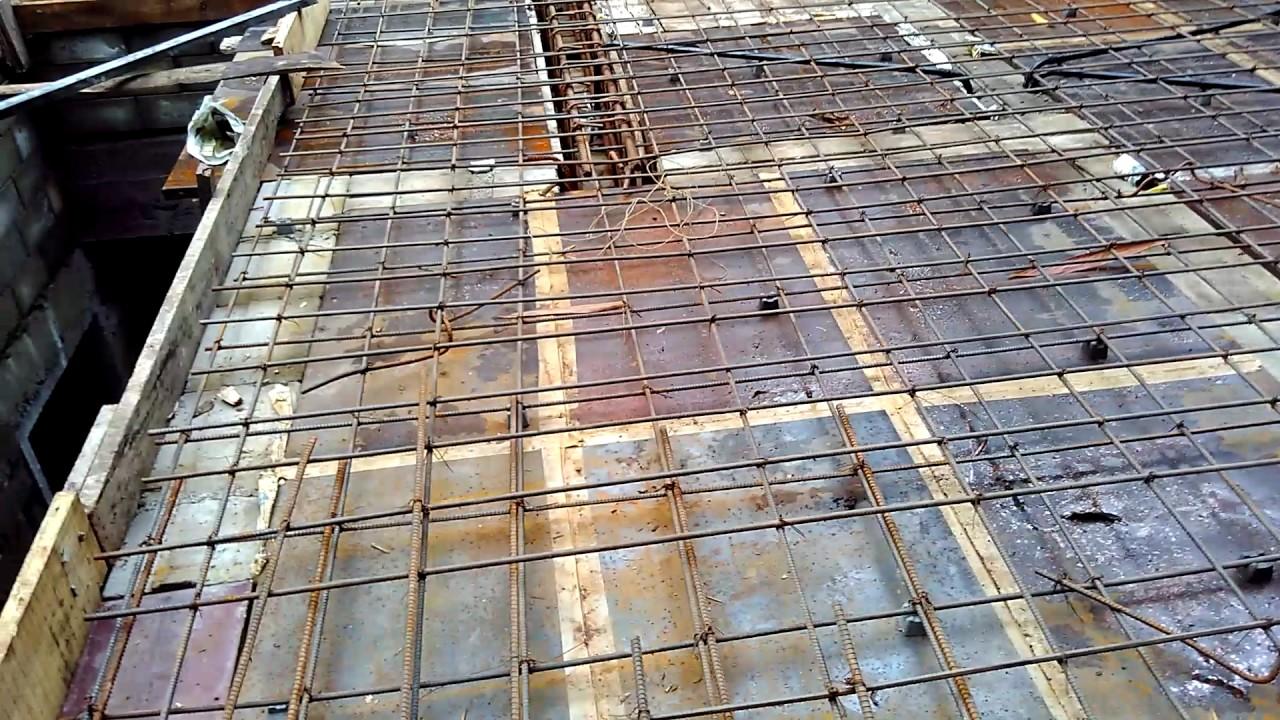 Rcc Slab Design : Roof slab concrete pitched edge gutter detail