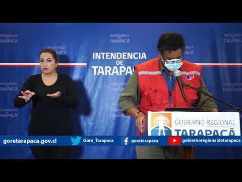 Punto de prensa 29 de julio de 2020 - Gobierno Regional de Tarapacá