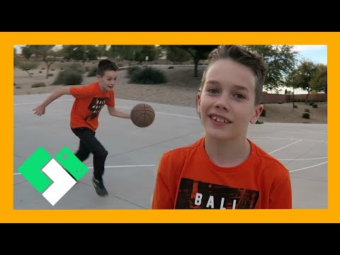 BASKETBALL PRACTICE AT THE PARK (Day 1775)