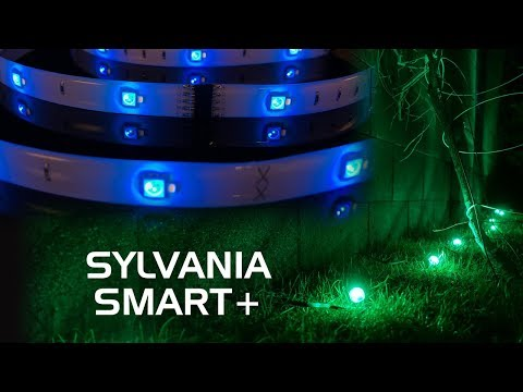 SYLVANIA SMART+ Lighting Review - A19 Color-Changing Bulb, Flex Lightstrip and Gardenspots