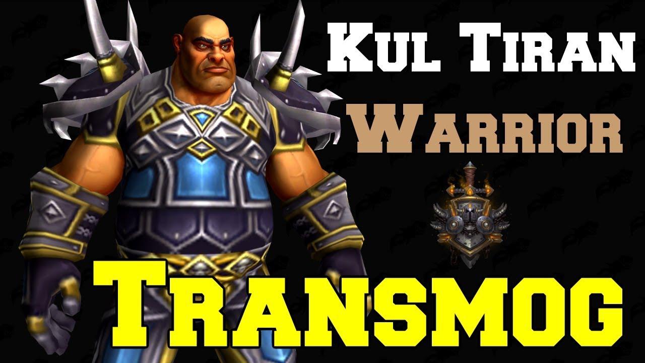 Kul Tiran Warrior Transmog Tiers 1-21 PvE | Dressing Room | World of  Warcraft Battle for Azeroth