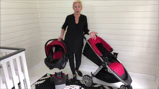 Video Overview: Britax B-Lively B-Safe Travel System