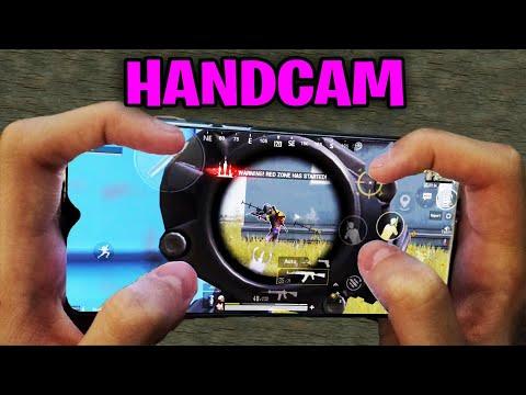 Redmi Note 8 Pro PUBG Mobile   HANDCAM 4 Finger + Full Gyro! #58