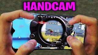 Redmi Note 8 Pro PUBG Mobile | HANDCAM 4 Finger + Full Gyro! #58