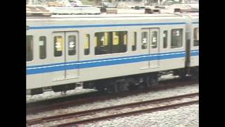 西武鉄道 6152F 踏切事故により小手指留置中の様子