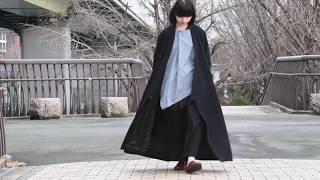 BISHOOL Heavy Wool KIMONO Coat by OVIE STUDIO