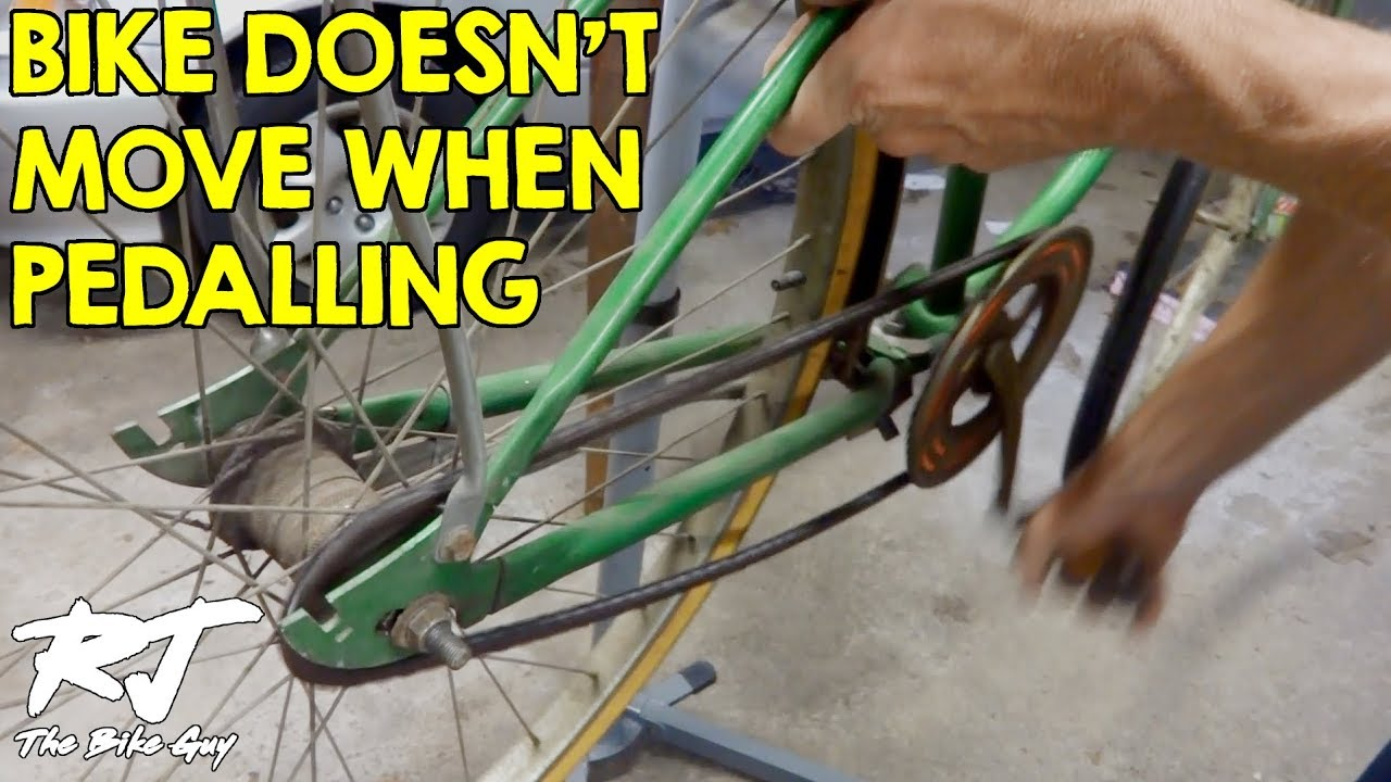 Pedals Turn But Rear Wheel Doesn T Bike Won T Move How To Fix