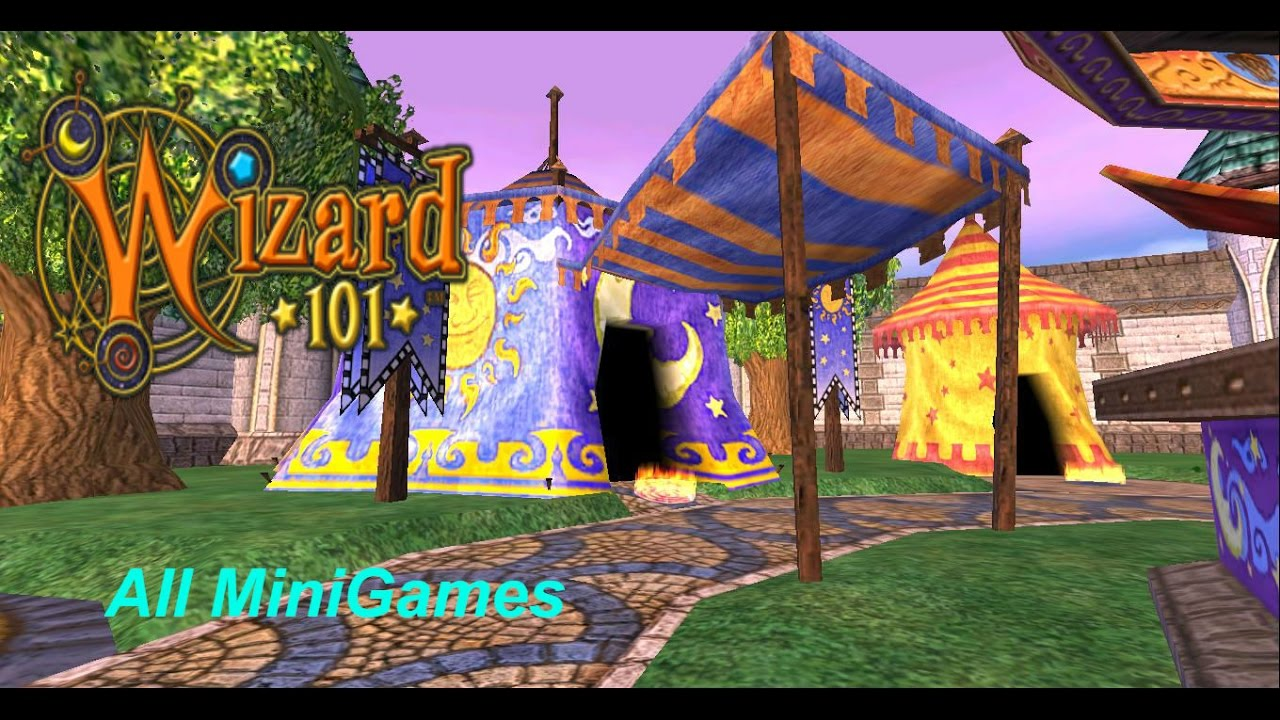 All of the Wizard101 Minigames
