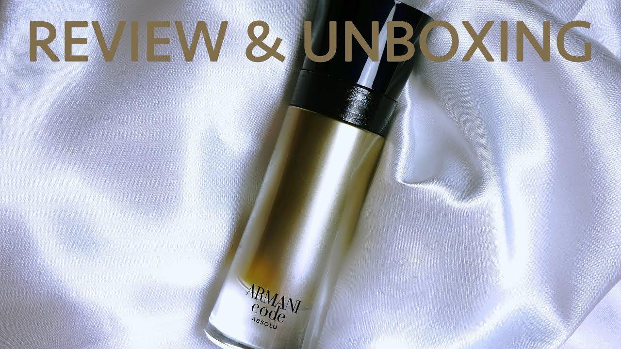 Parfum Review Giorgio Armani Armani Code Absolu 2019 Review