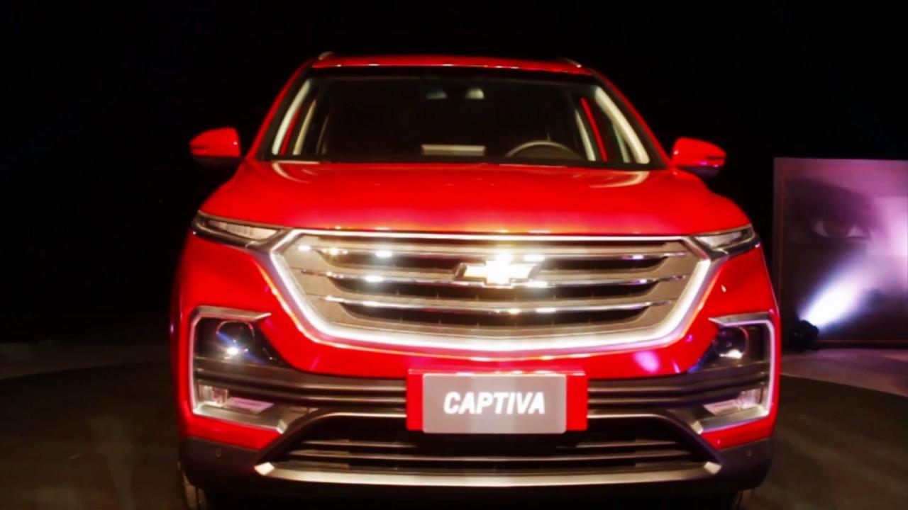 Nueva Chevrolet Captiva Tevanamirar