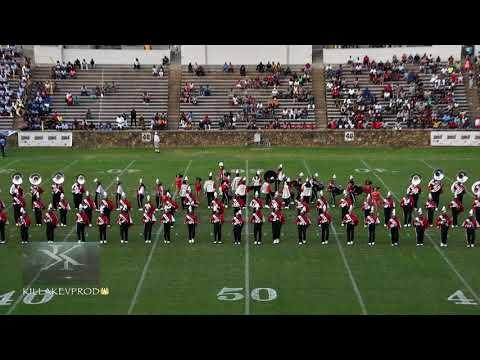 Winston Salem State University Marching Band - Field Show @ the 2017 QCBOB