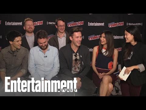 Humans: Cast & Creators On Season 2, Character Dynamics & More At NYCC 2016 | Entertainment Weekly