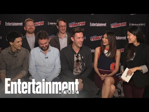 Humans: Cast & Creators On Season 2, Character Dynamics & More At NYCC 2016  Entertainment Weekly