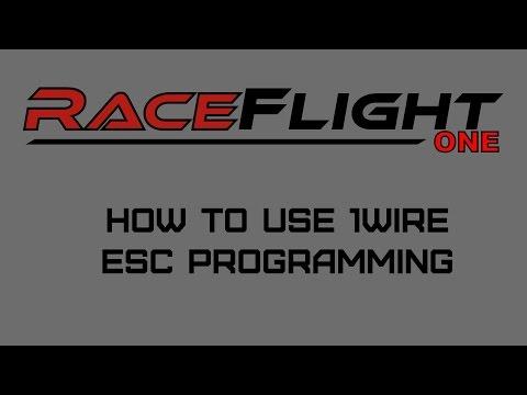 [ENG] Raceflight RF1 - 1wire ESC tutorial