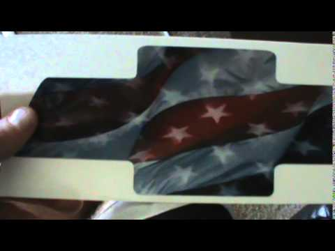 Bowtie American Flag Decal For My Side Windows YouTube - Chevy bowtie rear window decal