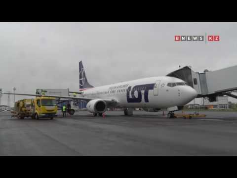 Открылся прямой рейс Астана – Варшава