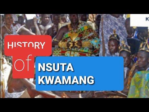 HISTORY OF NSUTA KWAMANG IN THE ASHANTI REGION