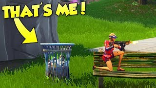 PLAYING INVISIBLE PROP HUNT IN FORTNITE (New Glitch)
