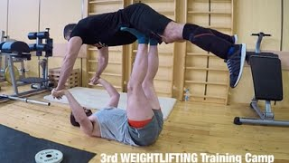 3rd WEIGHTLIFTING Training Camp / 9