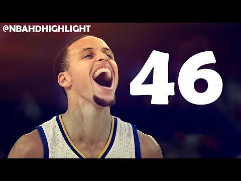 Stephen Curry 46 pts 8 threes vs Wolves 12...