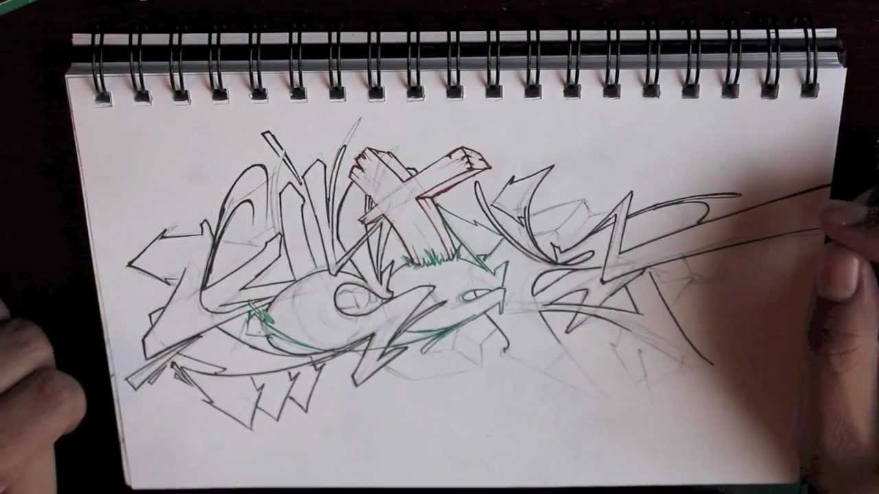 Graffiti Sketch From Blackbook